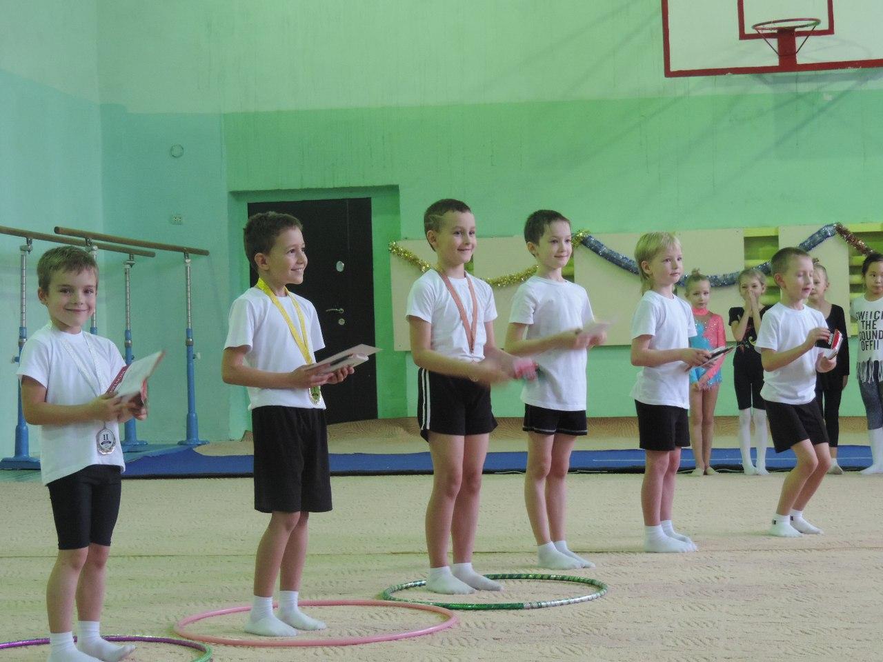 Соревнования на призы центра гимнастики
